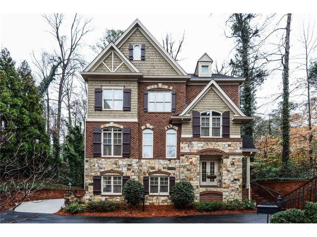 1152 Chantilly Commons Drive Ne Atlanta Ga 30324 Sold